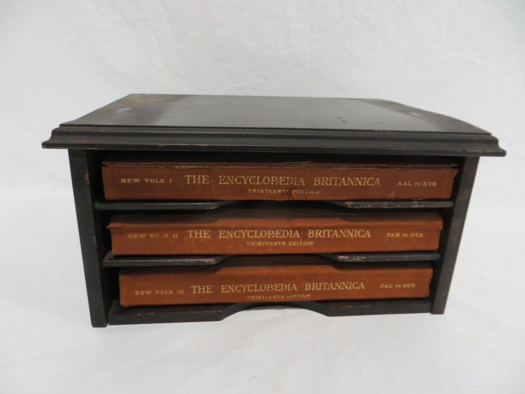 3 VOL - 1926 ENCYCLOPEDIA BRITANNICA 13TH EDITION