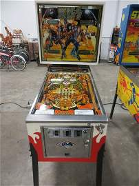 BALLY'S 1978 KISS PINBALL MACHINE