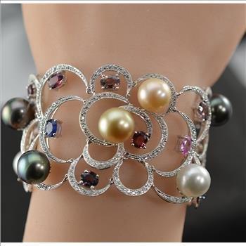 $40,823 Retail 12.39 Carats t.w. Diamonds,Alexandrites,