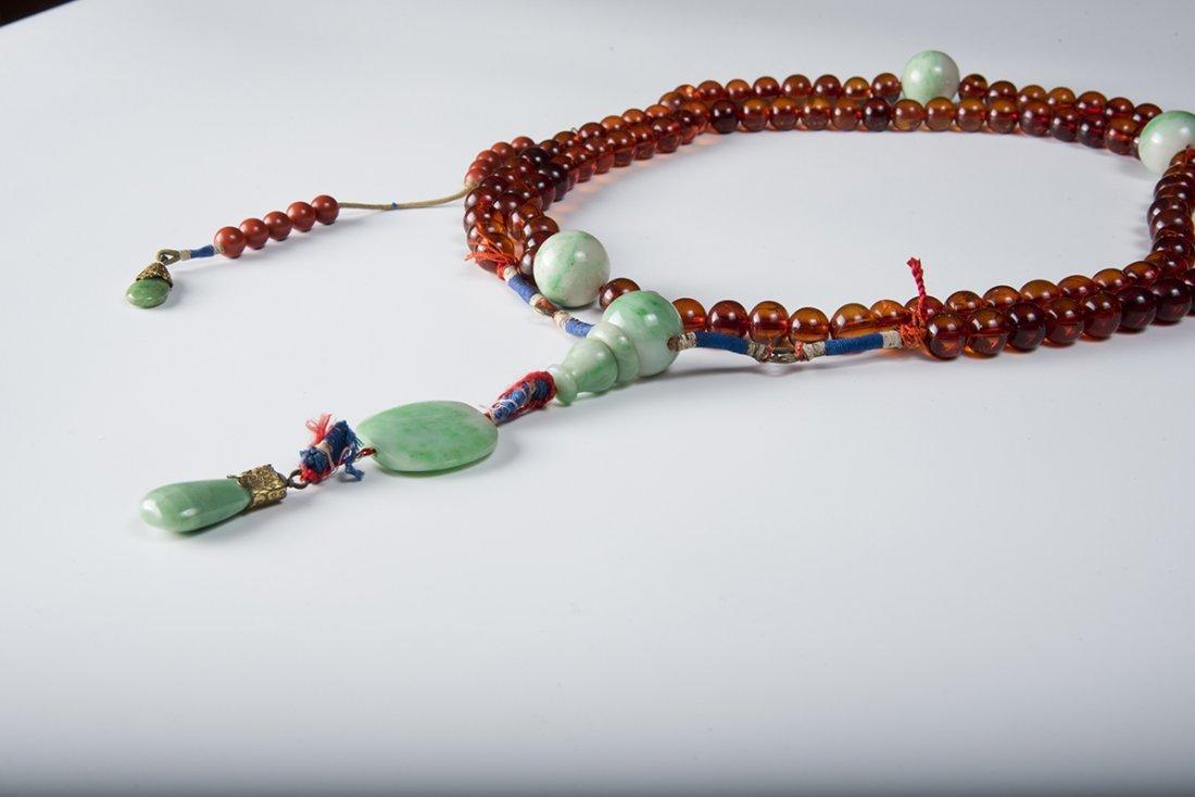 Amber Chaozhu with 108 Beads