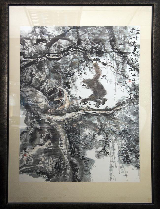 Chen Wen Hsi (1906 - 1992) Zhao Zhenchuan (b.1944)
