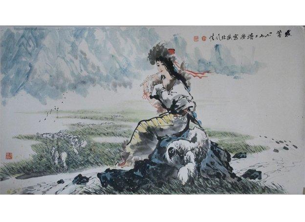 Liu Jirong  Flute