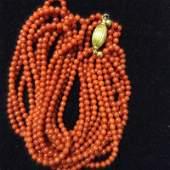 Chinese amber beads