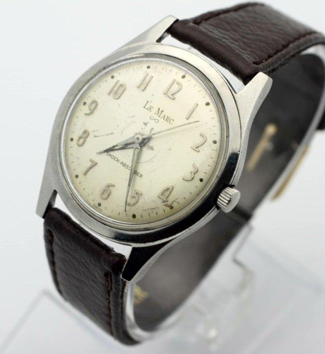 Lemarc Wind Up Mens Vintage Watch