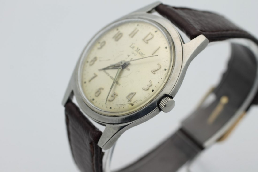 Lemarc Wind Up Mens Vintage Watch - 3