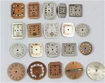 Lot of 20 Watch Dials New Old Stock NOS Bulova Elgin
