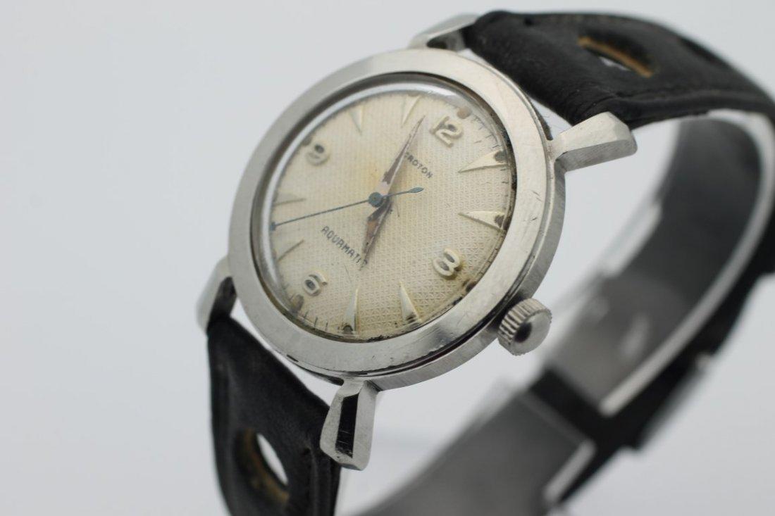 Croton Aquamatic Mens Automatic Vintage Watch - 3