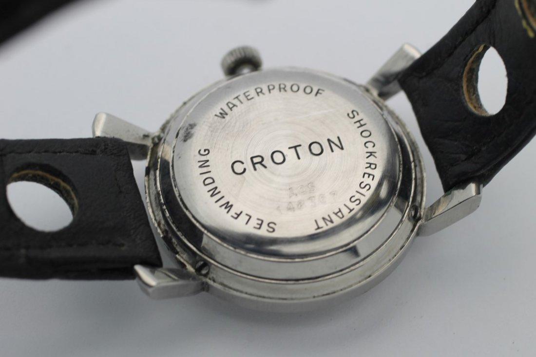 Croton Aquamatic Mens Automatic Vintage Watch - 4