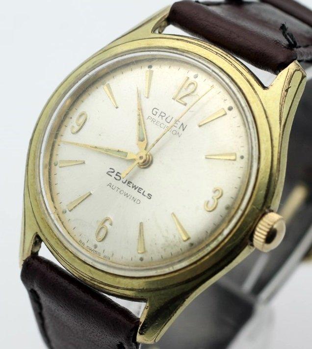 Gruen Precision 25 Jewel Autowind Mens Automatic Watch