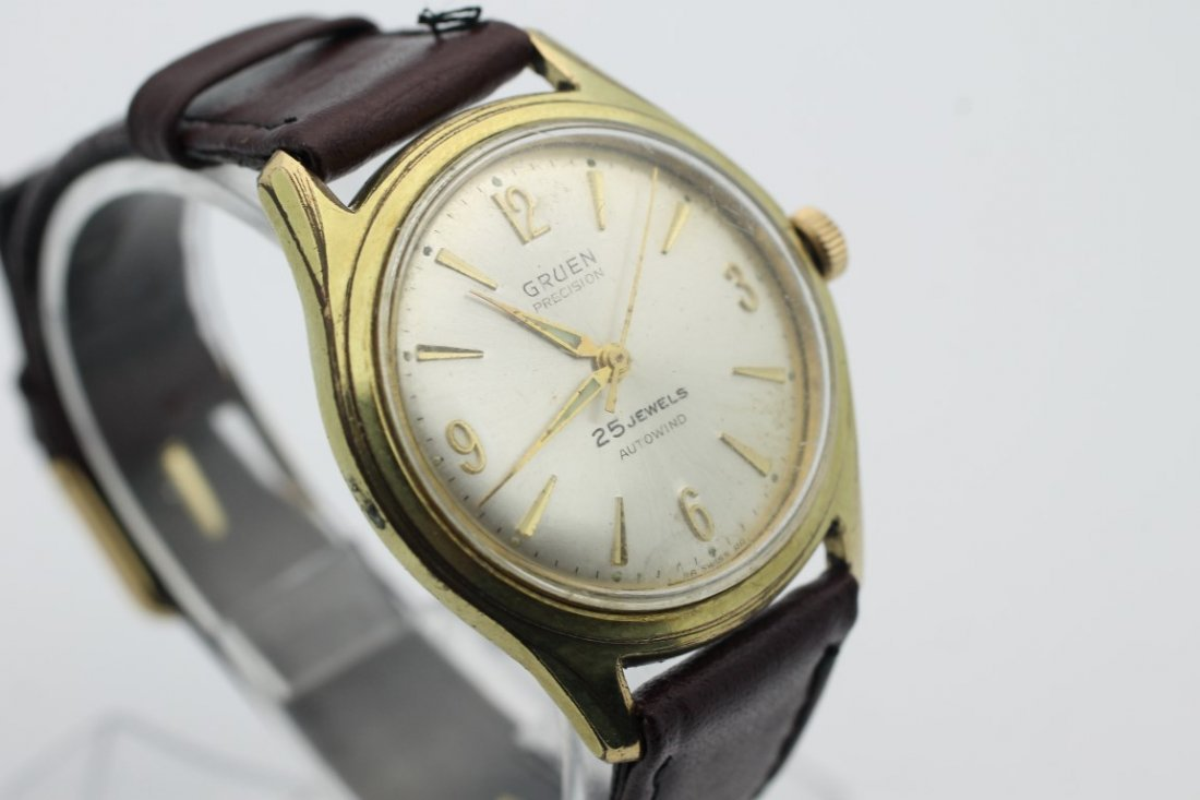 Gruen Precision 25 Jewel Autowind Mens Automatic Watch - 2