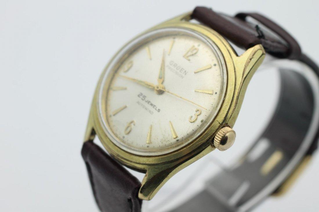 Gruen Precision 25 Jewel Autowind Mens Automatic Watch - 3