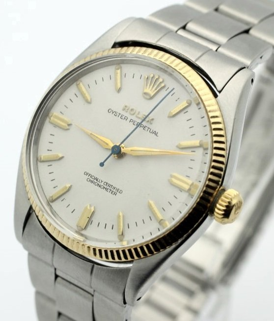 1956 ROLEX Oyster Perpetual Oficially Certified