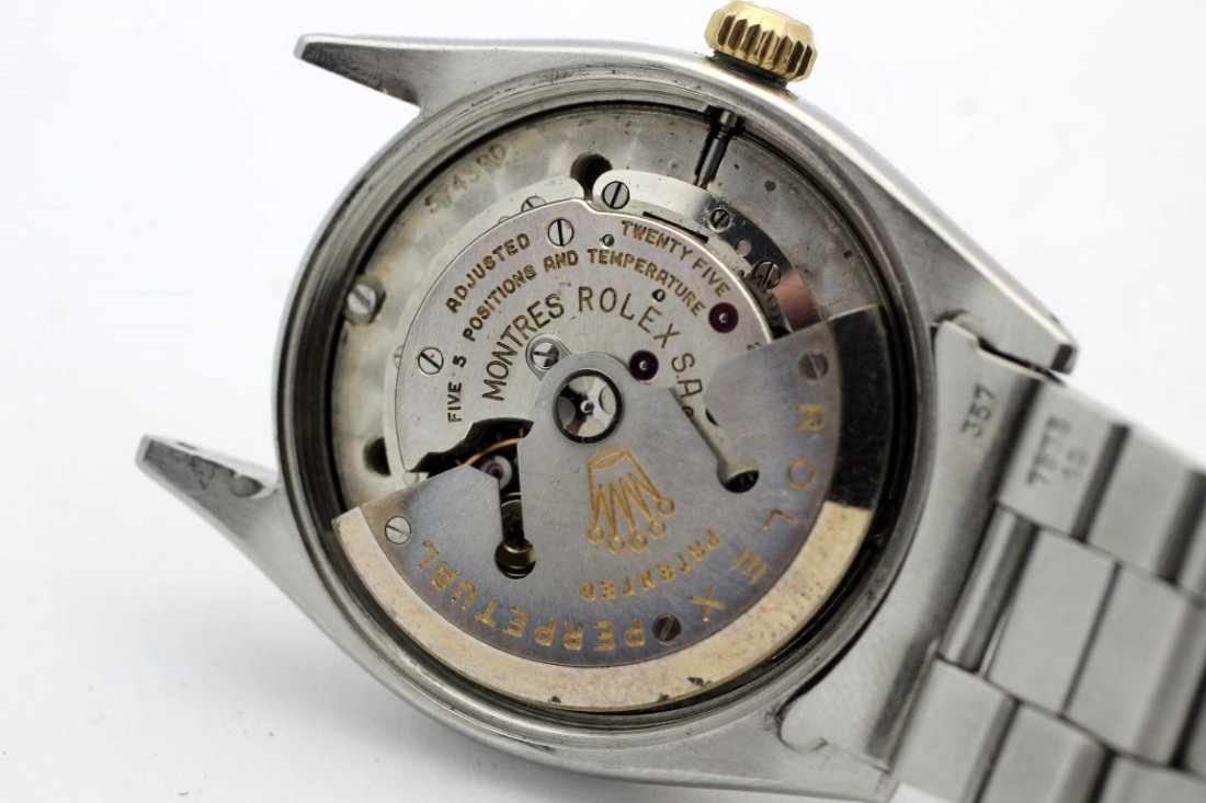 1956 ROLEX Oyster Perpetual Oficially Certified - 5