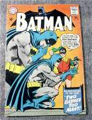 Vintage Batman DC Comic Dec. No. 177 Two Batman Too