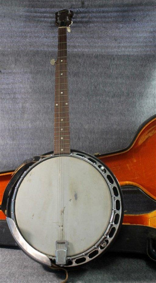 Vintage 1962 Gibson RB-250 5 String Banjo with Hard