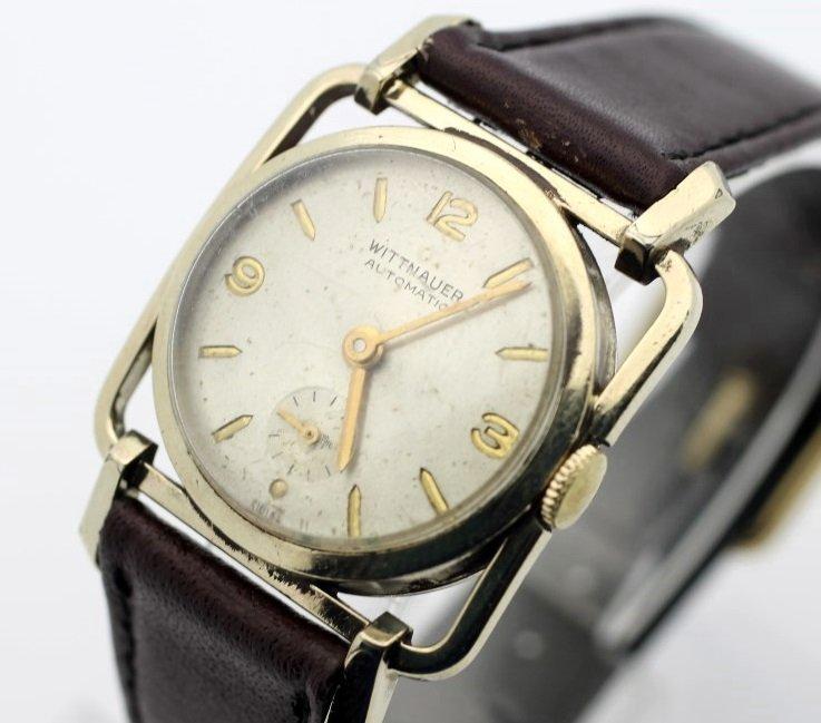 Vintage WITTNAUER Automatic Art Deco Men's Dress Watch