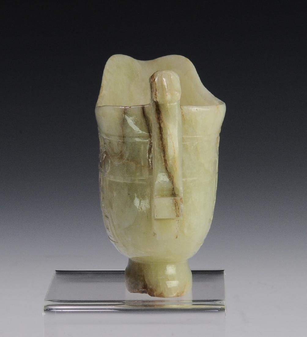 Jade Cup with Handle, Ming Dynasty - 6