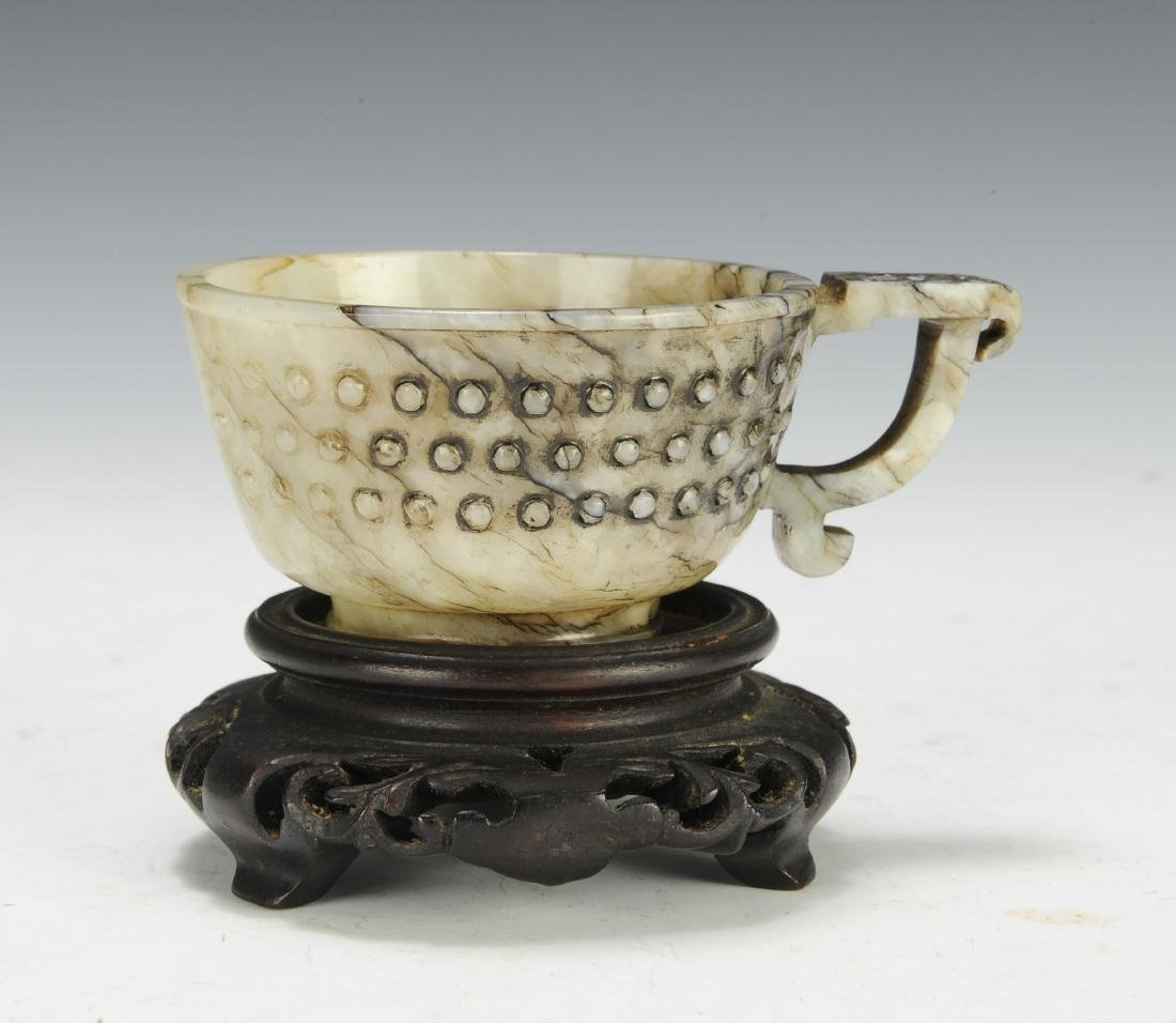 Jade Cup w/ Handle, Ming Dynasty - 3