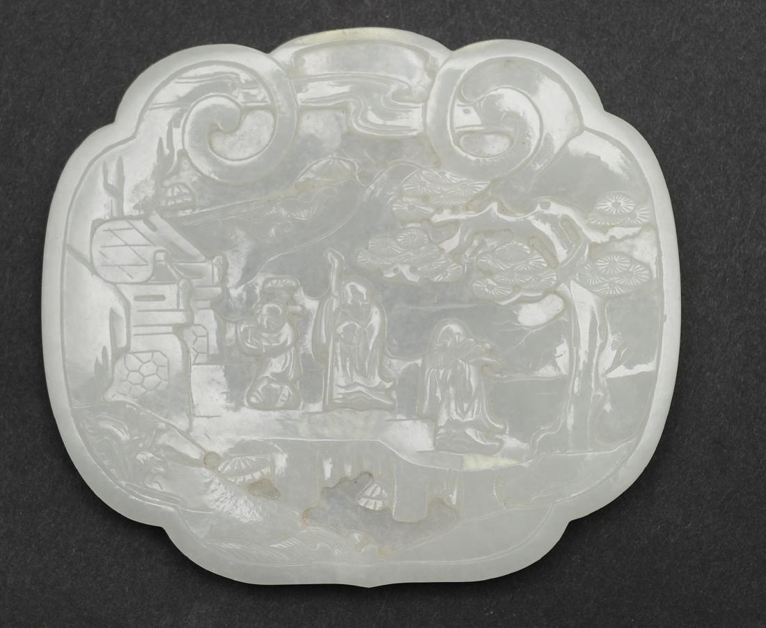 Set of Jade Ruyi Tops, 18th - 19th Century - 3