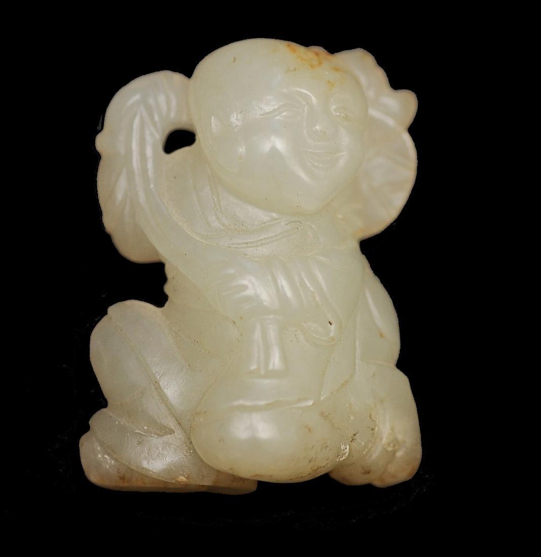 Small Jade Boy, 18th - 19th Century