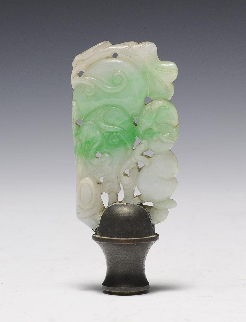 Jadeite Finial, 19th Century