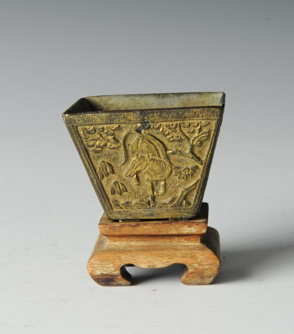 Bronze Incense Burner w/ Horses, Ming Dynasty - 3