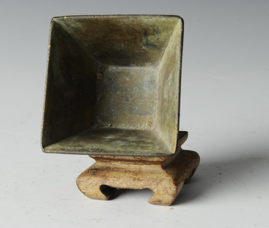Bronze Incense Burner w/ Horses, Ming Dynasty - 5
