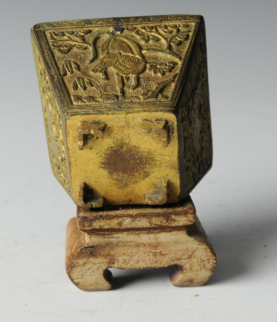 Bronze Incense Burner w/ Horses, Ming Dynasty - 6