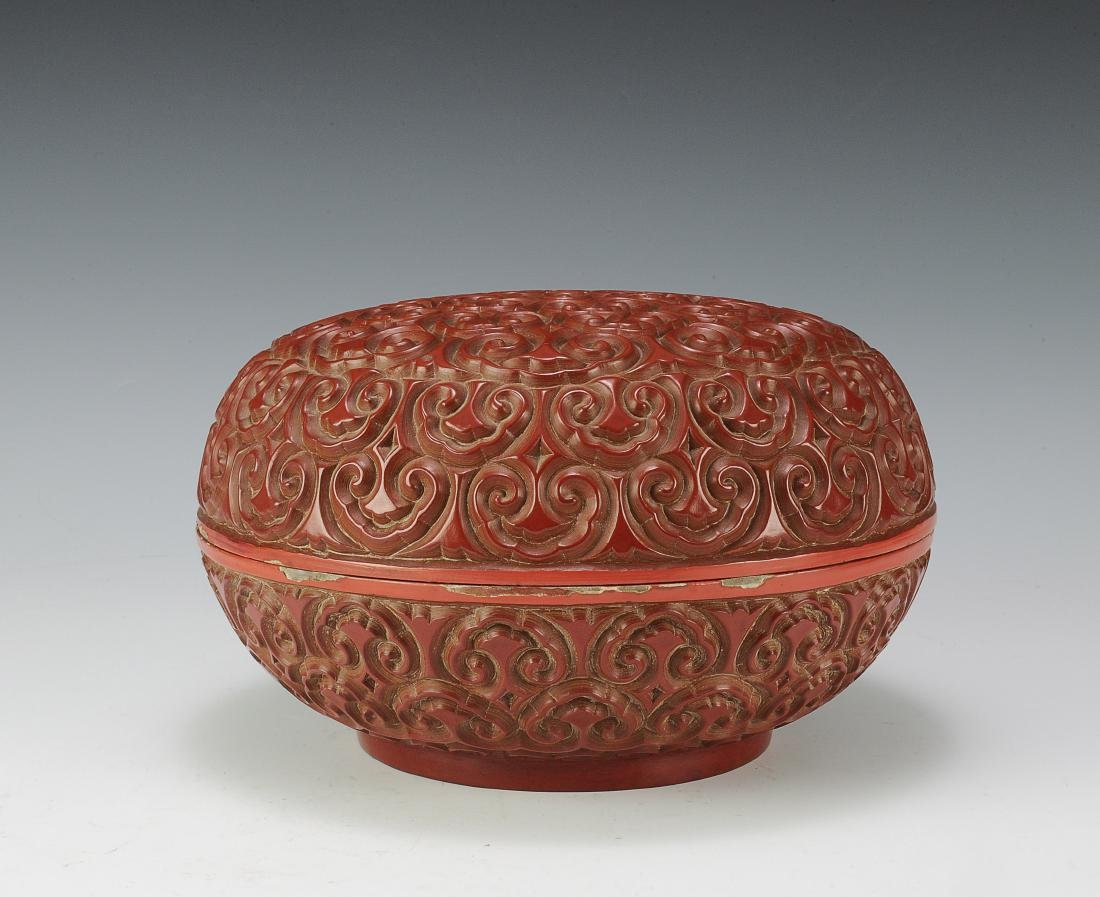 Cinnabar Box, 18th Century