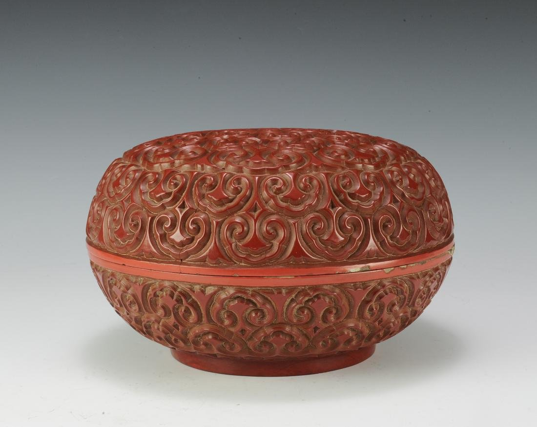 Cinnabar Box, 18th Century - 3