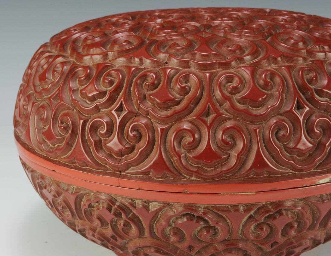 Cinnabar Box, 18th Century - 4