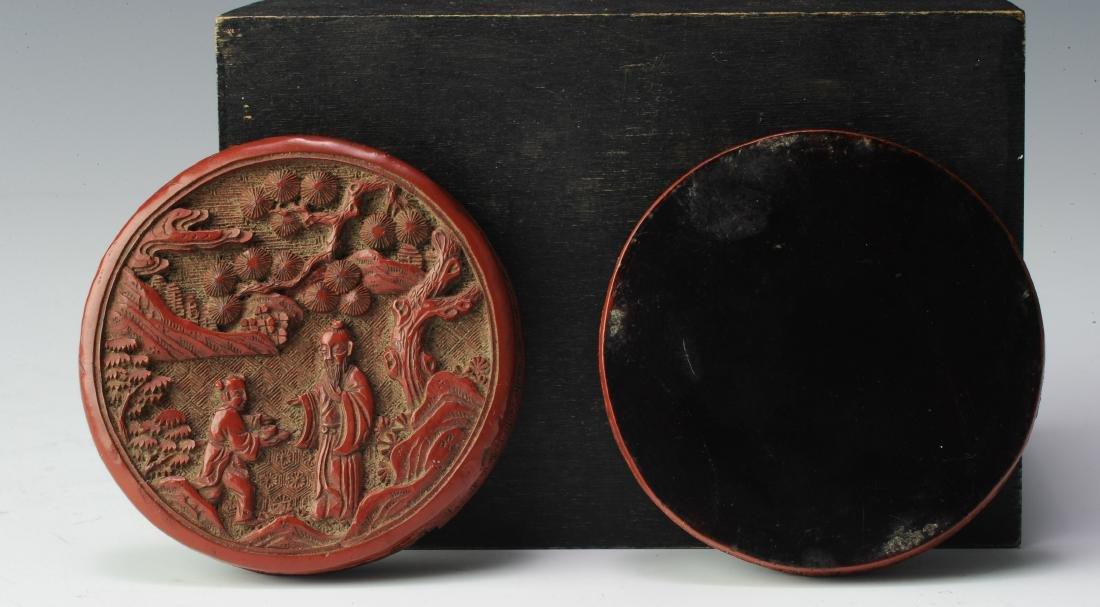 Small Cinnabar Box, 18th Century - 3