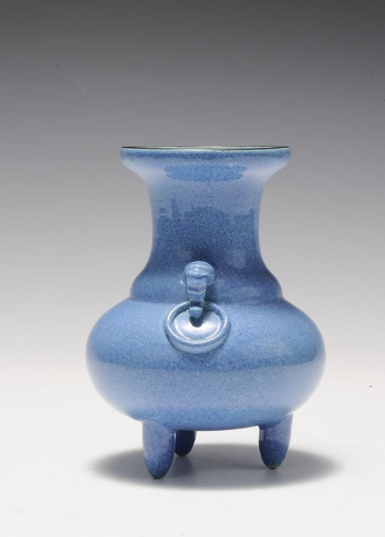 Robin's Egg Porcelain Incense Burner, 19th Century - 4
