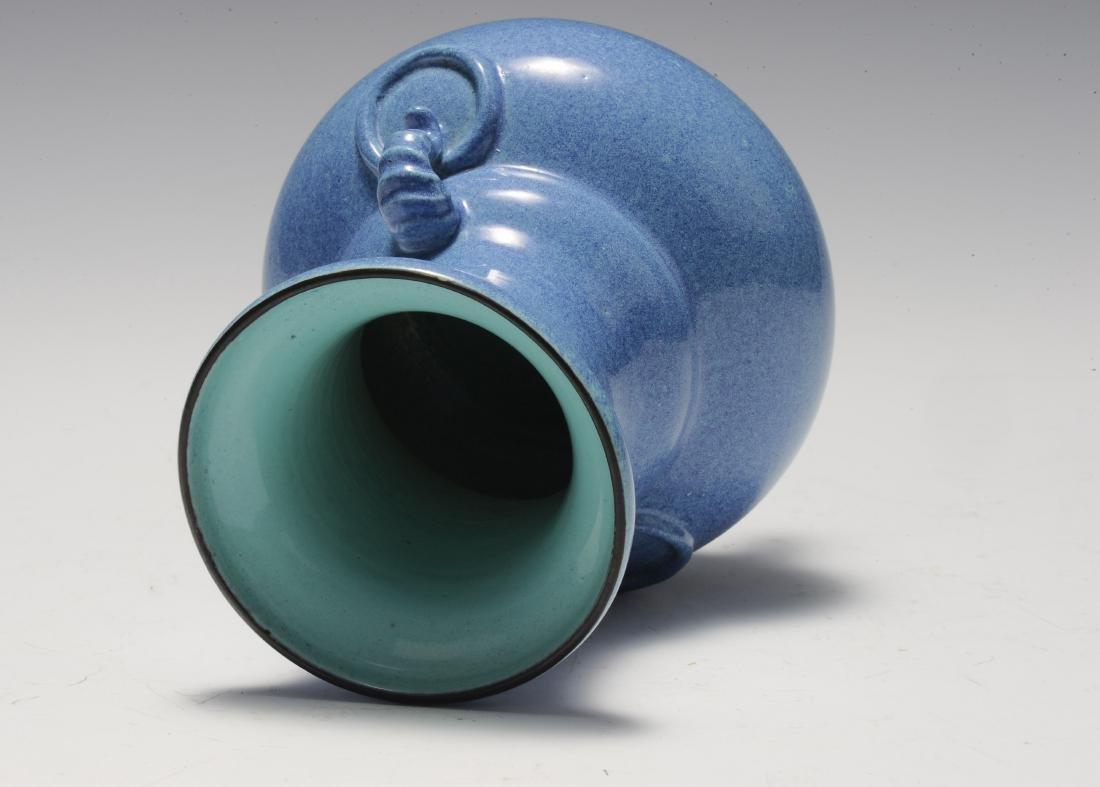 Robin's Egg Porcelain Incense Burner, 19th Century - 5