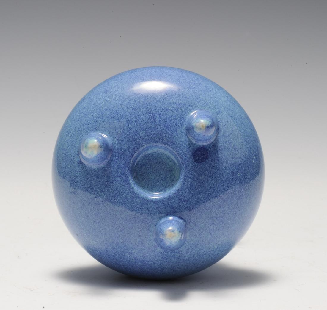 Robin's Egg Porcelain Incense Burner, 19th Century - 6