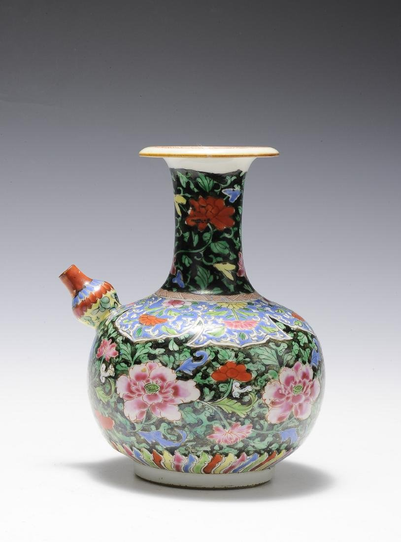 Famille Rose Junchi Vase, 18th Century