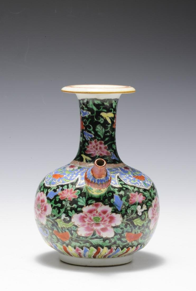 Famille Rose Junchi Vase, 18th Century - 2