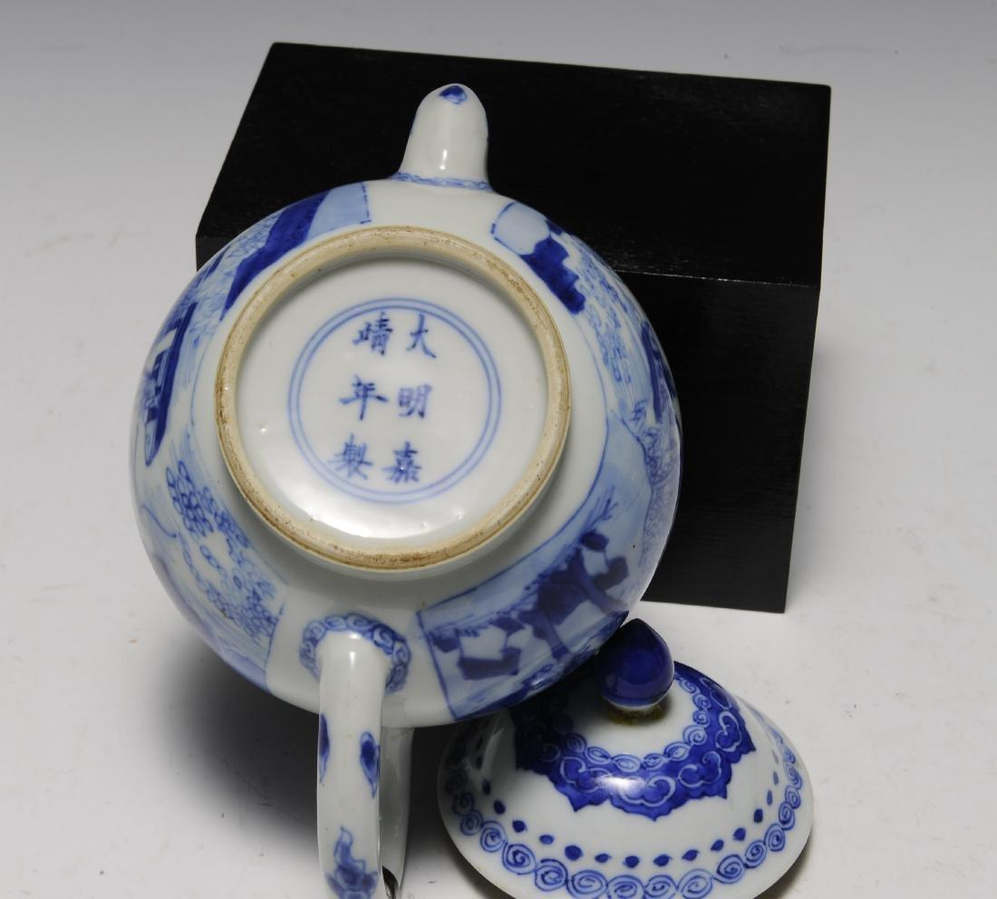 Three Porcelain Items, 18th - 19th Century - 5