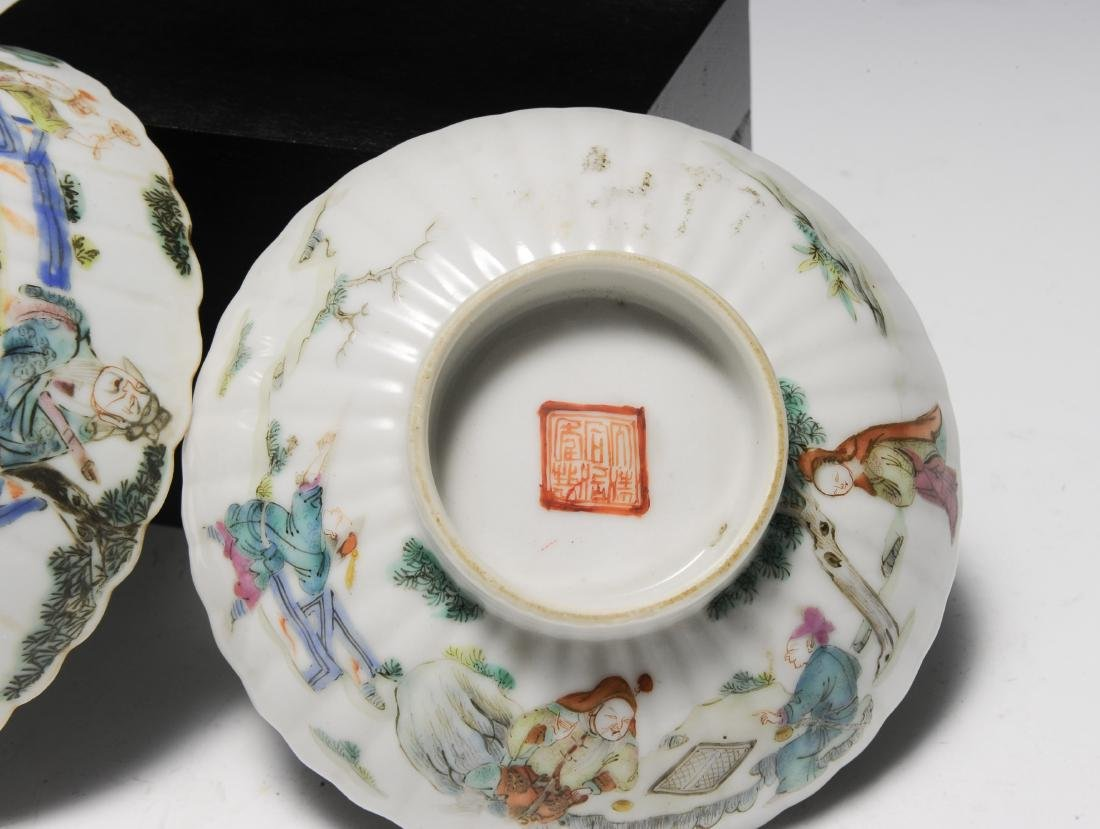 Three Porcelain Items, 18th - 19th Century - 7