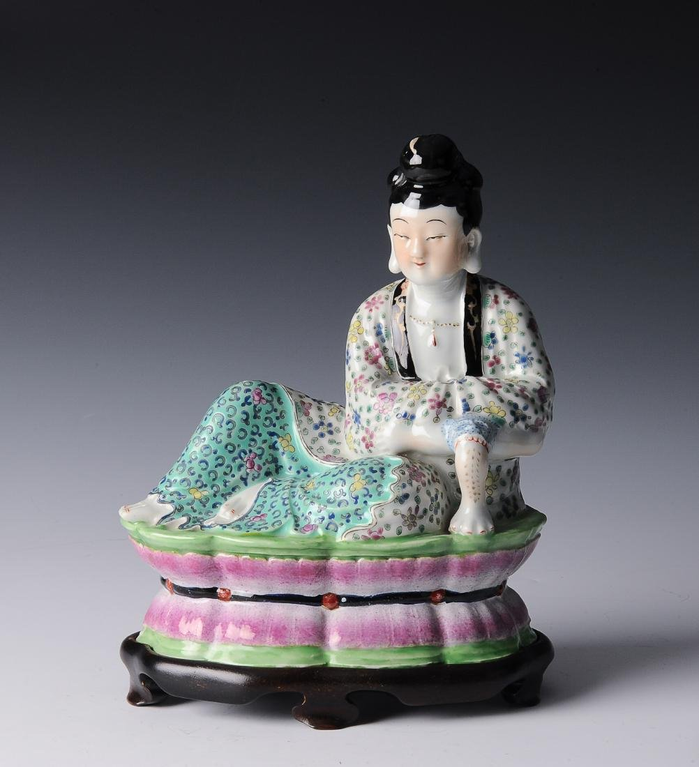 Porcelain Figure of a Lady, Republic Period