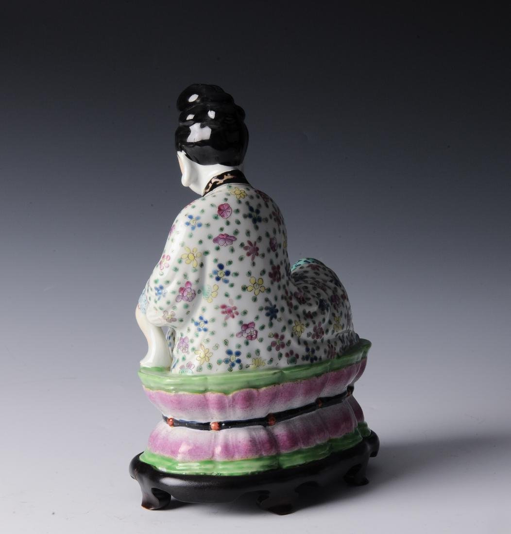 Porcelain Figure of a Lady, Republic Period - 3