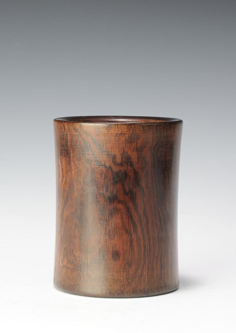 Huanghuali Brush Pot, 18th Century