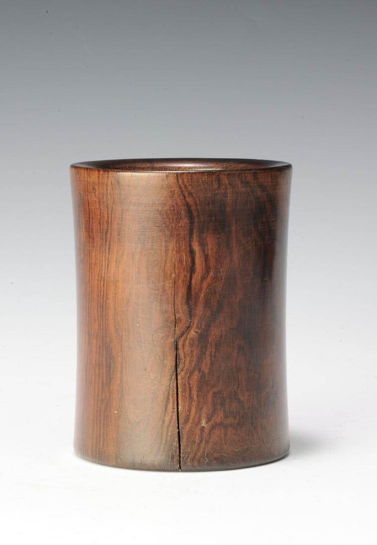 Huanghuali Brush Pot, 18th Century - 2