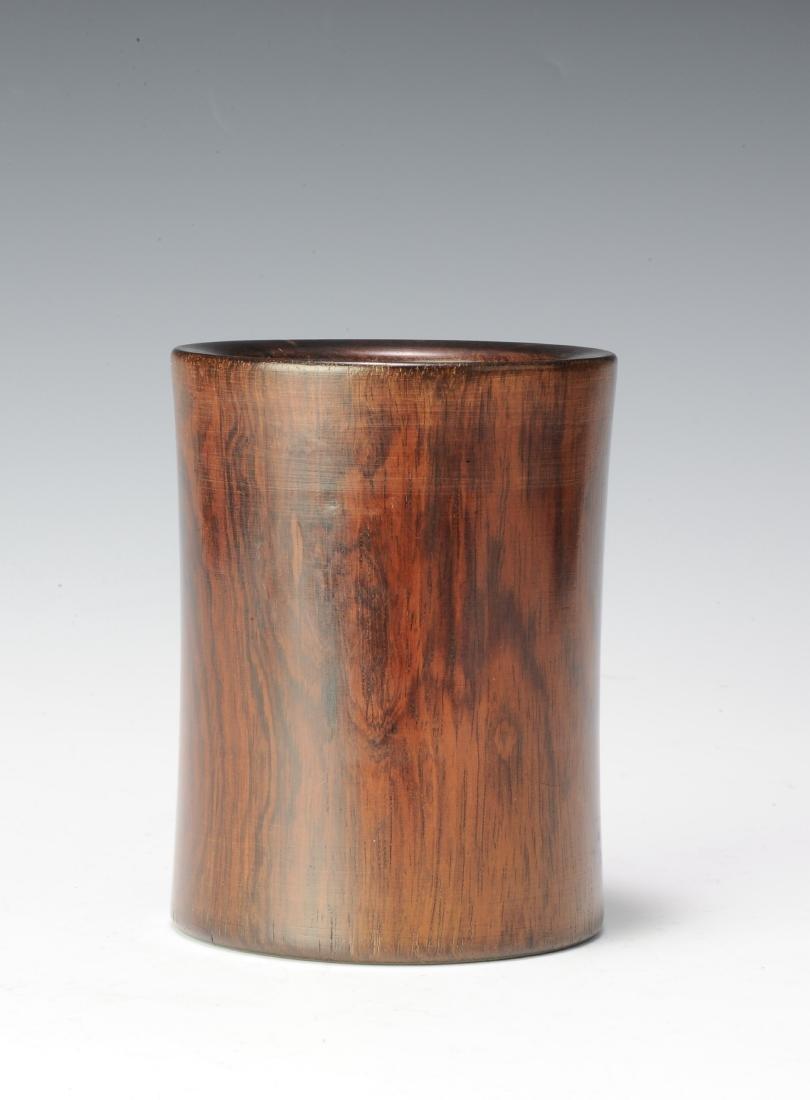 Huanghuali Brush Pot, 18th Century - 4