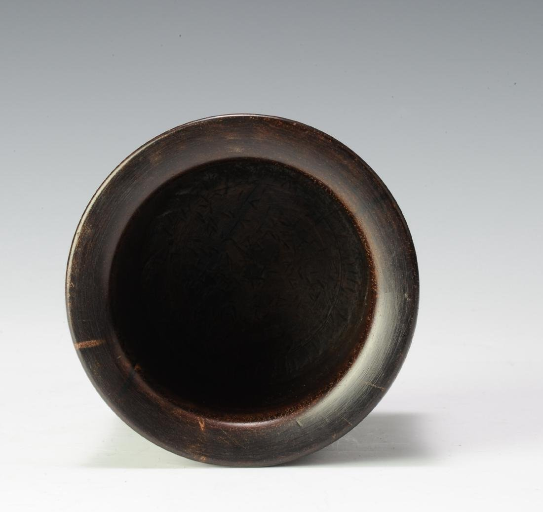 Huanghuali Brush Pot, 18th Century - 5