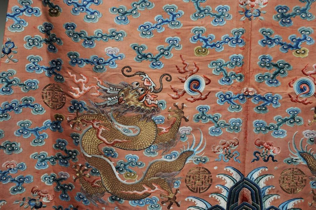 Red Dragon Robe, 19th Century - 6