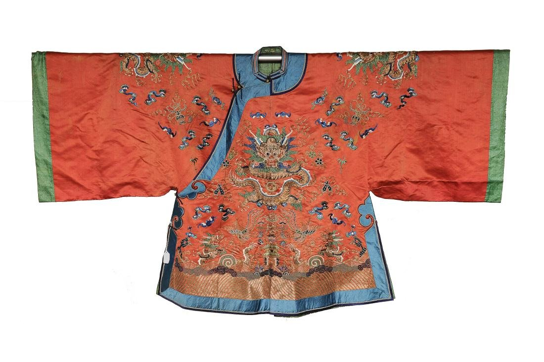 Lady's Dragon Robe, 19th Century