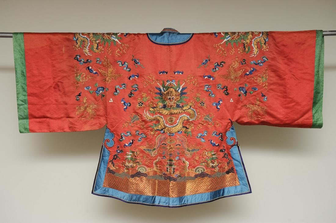Lady's Dragon Robe, 19th Century - 6