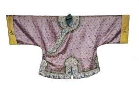Pink Ground Lady's Robe, 19th Century
