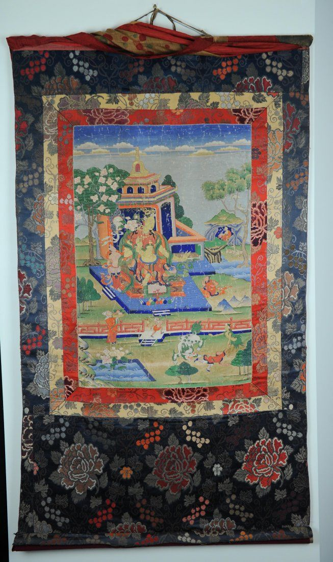 Tibetan Thangka, Early 19th Century